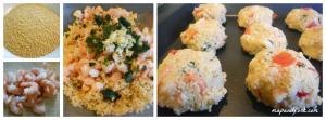 polpette couscous collage