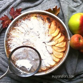 Torta layer mele - pic